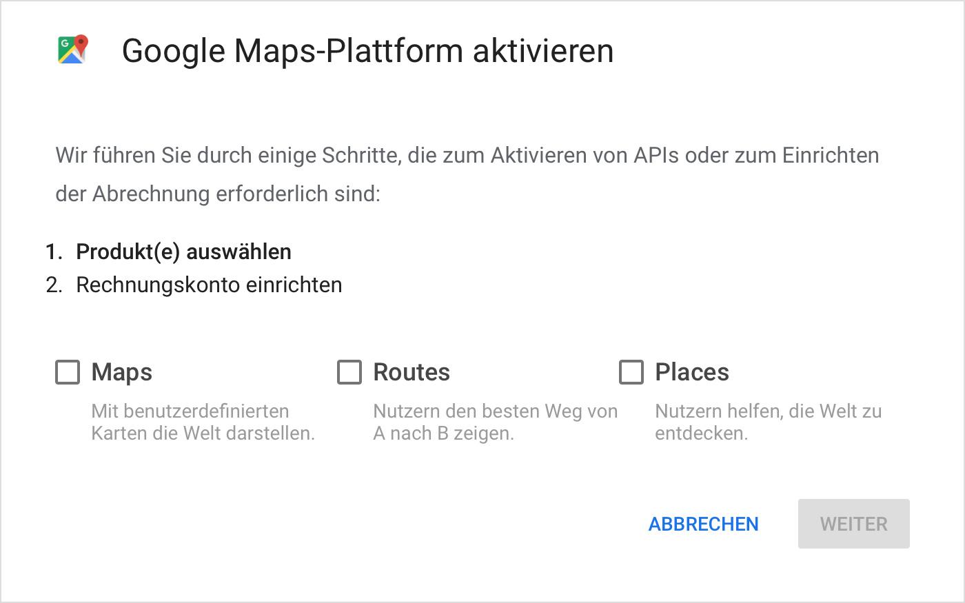 Google Maps wird nicht mehr angezeigt: Infos zu API und ...