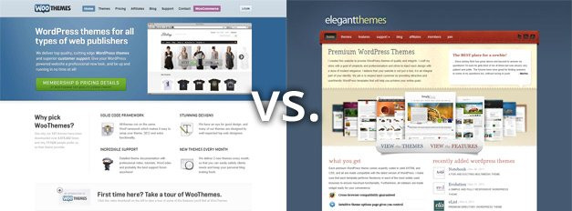 WooThemes vs. Elegant Themes